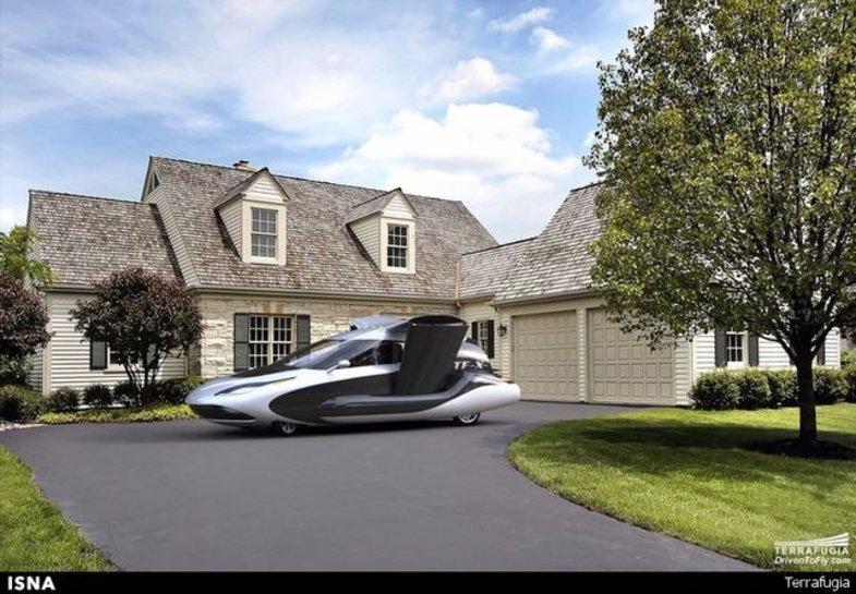 ورود اولین خودروی پرنده جهان به بازار +تصاویر