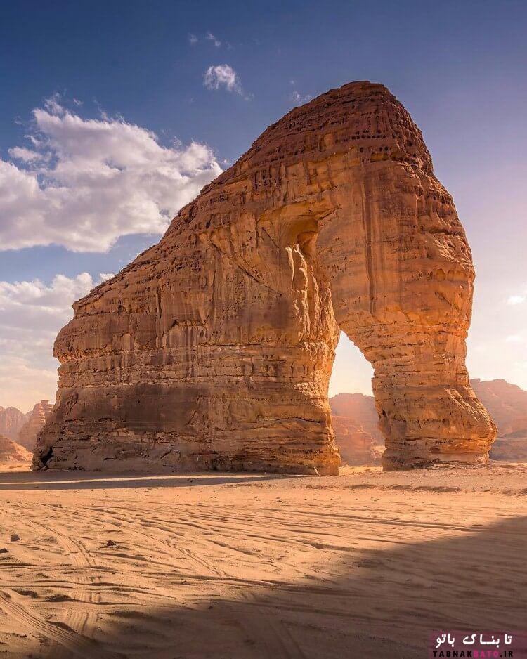 تصاویری از کوه فیل از عجایب شگفت انگیز طبیعت