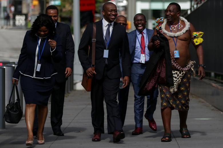 تیپ برهنه یک دیپلمات در سازمان ملل+عکس