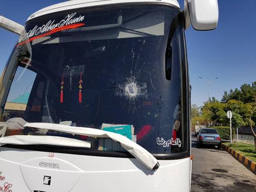 زن قهرمانی که ناجی مسافران اتوبوس شد +عکس