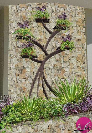 آویز درختی گلدان، زیبا و دیدنی