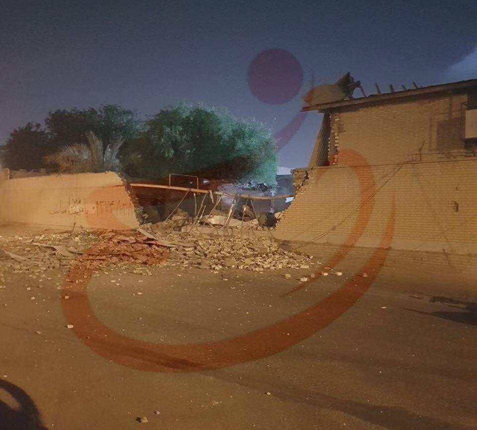 تصویری از انفجار در ورزشگاه تختی اهواز