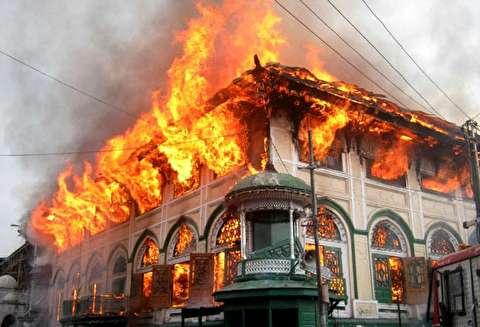 زنده سوختن سه نفر در آتش+۱۸