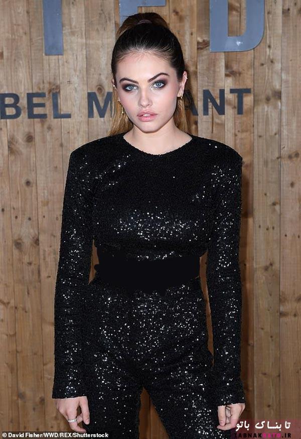 زیباترین دختر جهان در جشن «لورئال پاریس»