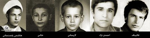 عکسی جالب از احمدینژاد، قالیباف و لاریجانی