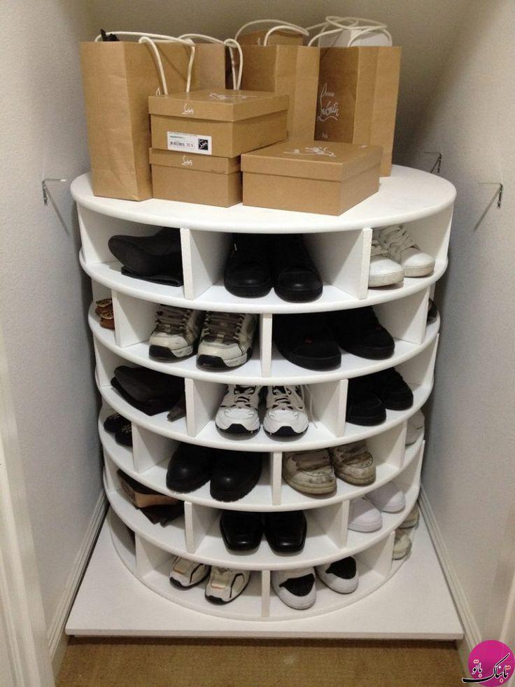 نظم بخشیدن به کفشها با انتخاب جاکفشی مناسب