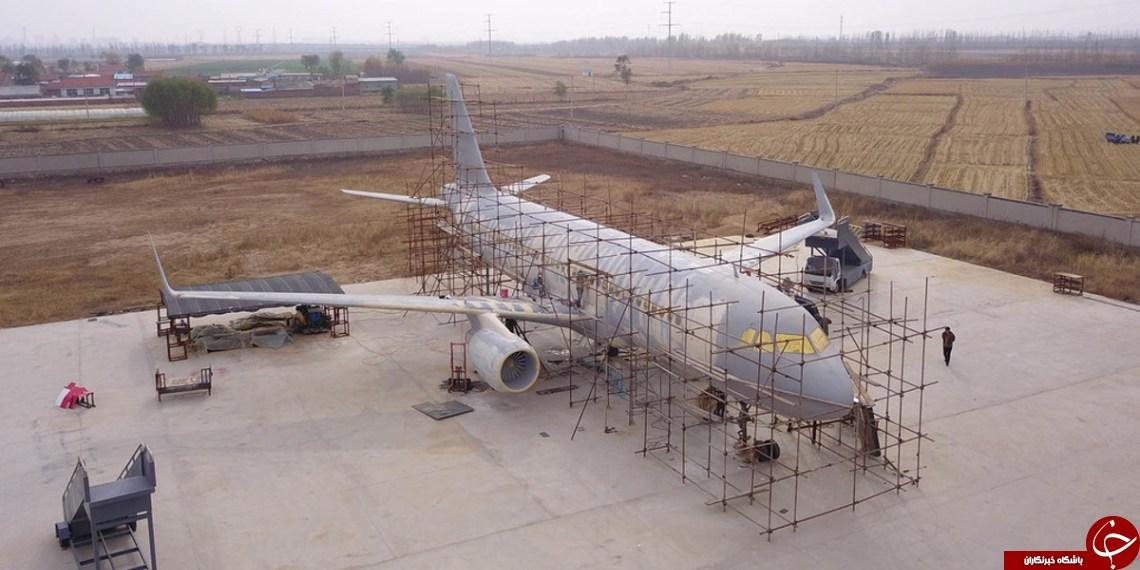ساخت هواپیمای ایرباس توسط یک کشاورز + عکس