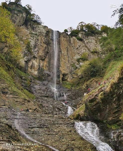 بلندترین آبشار ایران کجاست؟ +عکس