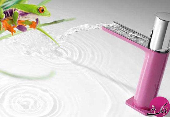 طرحهای جالب و متفاوت شیر روشویی