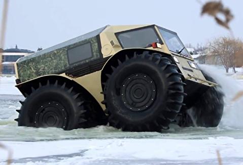 خودروی همه فن حریف روسها
