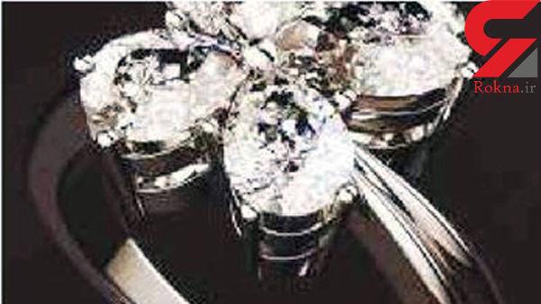 این زن و مرد الماسهای ۳۰۰ میلیون دلاری را دزدیدند +عکس