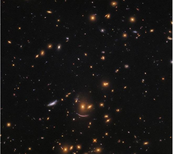 تصویری جالب از خنده کهکشانی +عکس