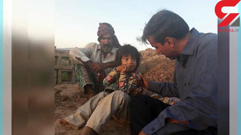 زندگی دردناک دختر ۶ ساله ایرانی در گاوداری متروکه+عکس