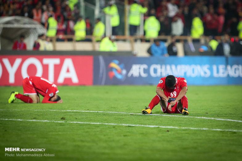 سه صحنه کاملا غم انگیز از بازی دیروز پرسپولیس+عکس
