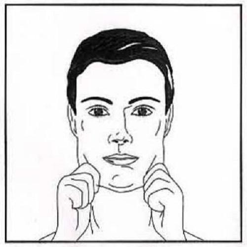 ورزش صورت {hendevaneh.com}{سایتهندوانه} - 204574 377 - آموزش چندین حرکت مفید برای ورزش صورت+تصاویر