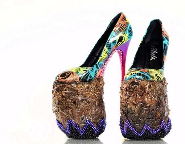 مدل های عجیب و غریب کفش های پاشنه بلند زنانه {hendevaneh.com}{سایتهندوانه} - 204881 999 - مدل های عجیب و غریب کفش های پاشنه بلند زنانه