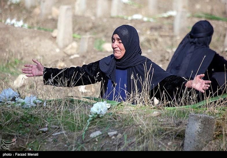 نالههای سوزناک زنان کرمانشاهی+عکس