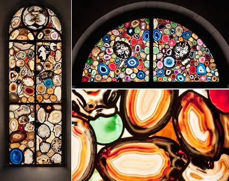 چشم نوازترین ساختمانها با شیشههای رنگی در جهان