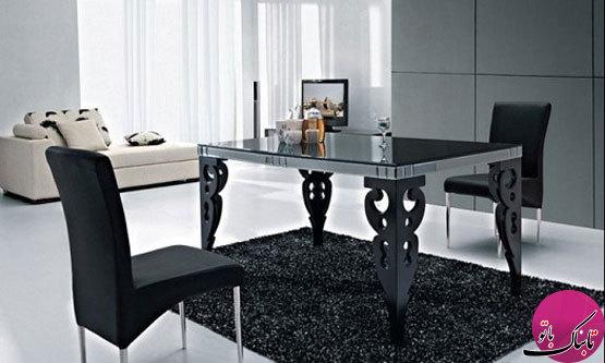 میزهای شیشهای ناهارخوری، زیبا و پرطرفدار