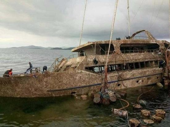 کشف قایق تفریحی فونیکس در پوکت+عکس