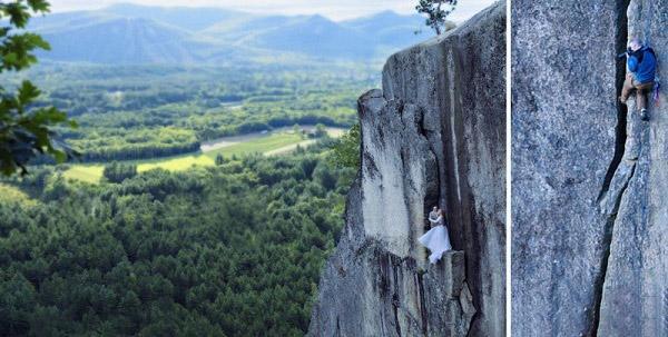 عکسهای عجیب زوج آمریکایی در کوه!