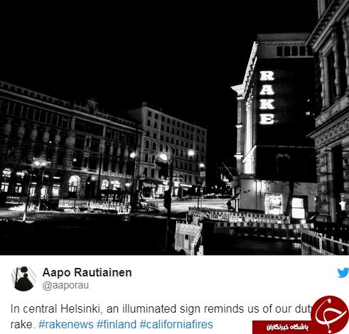 رئیسجمهور فنلاند دروغِ ترامپ را لو داد +عکس