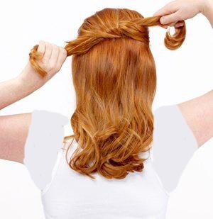 چگونه موها را مدل شینیون گره ای درست کنیم؟