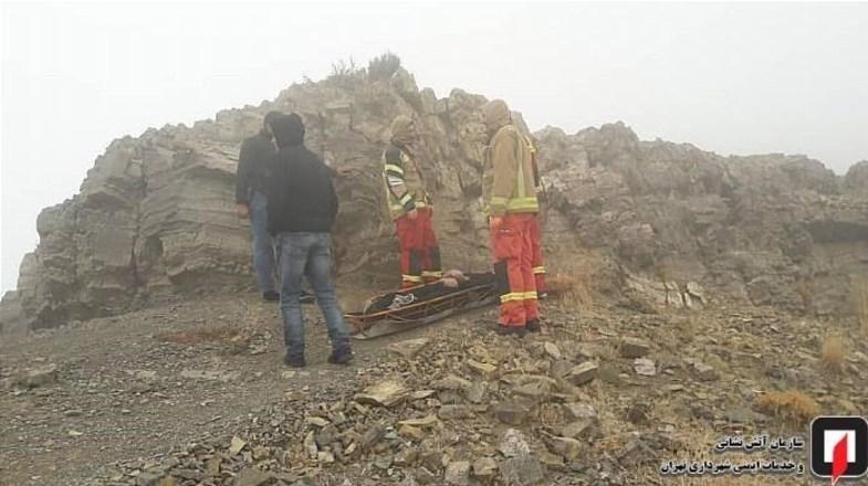 کشف جسد مرد جوان در ارتفاعات کن +تصاویر
