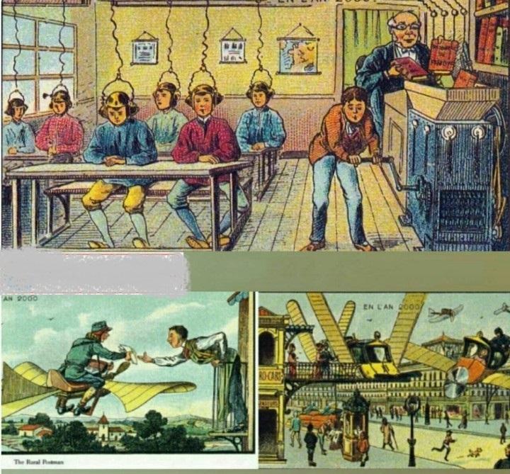 تصوری که ۲۰۰ سال پیش از تکنولوژی وجود داشت