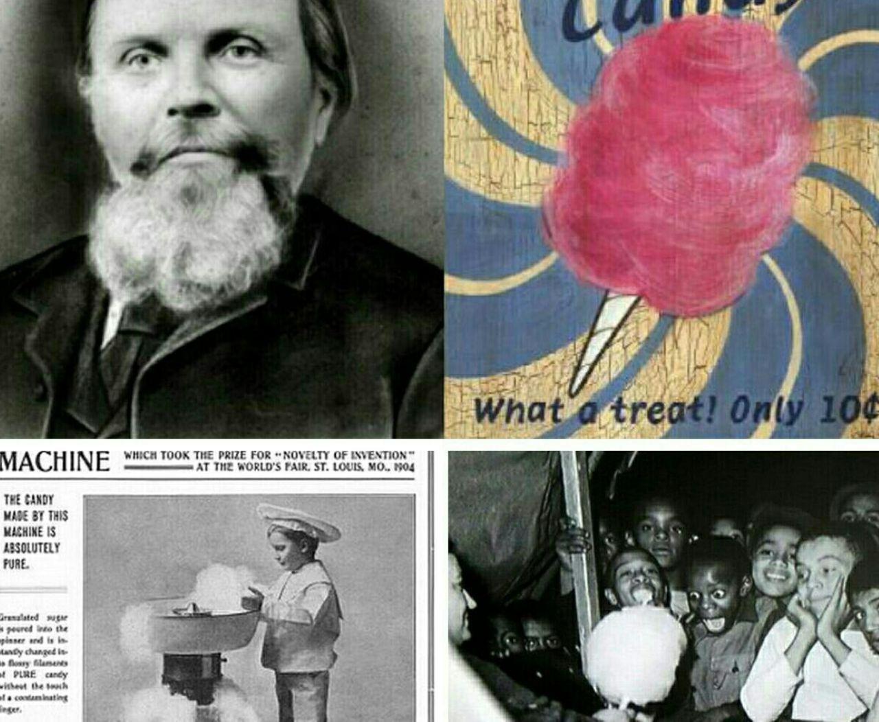 دندانپزشکی که مخترع و تولیدکننده پشمک شد +عکس