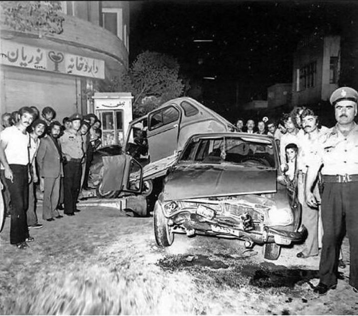 از قدیمی ترین تصادفات در ایران +عکس