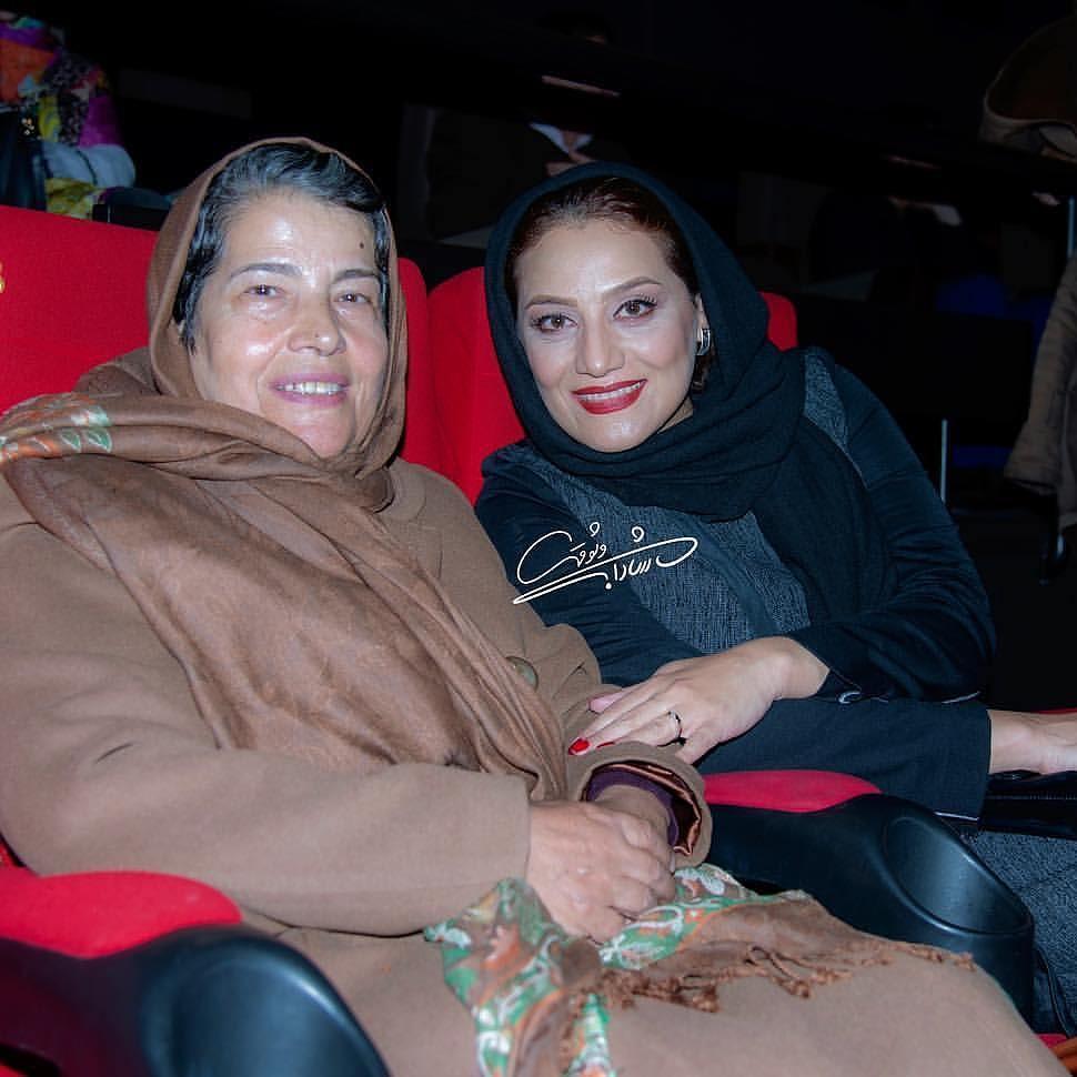 بازیگر پرکار زن سینما و مادرش +عکس