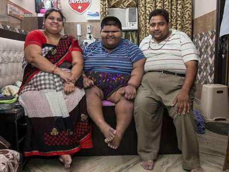 چاقترین پسر بچه دنیا +تصاویر