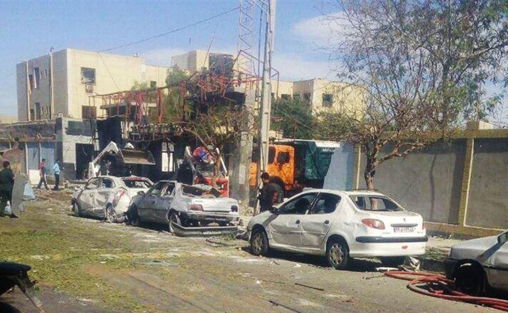 خودروهایی که در حمله تروریستی چابهار نابود شدند +عکس