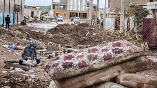 وضعیت تاسف برانگیز سیل زدگانِ پلدختر +عکس