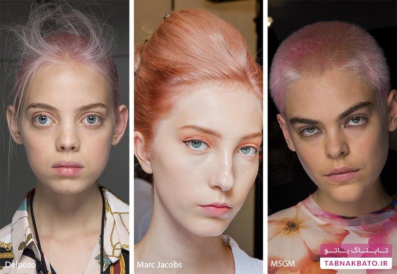 رنگ موهای خاص زنانه ۲۰۱۹ میلادی