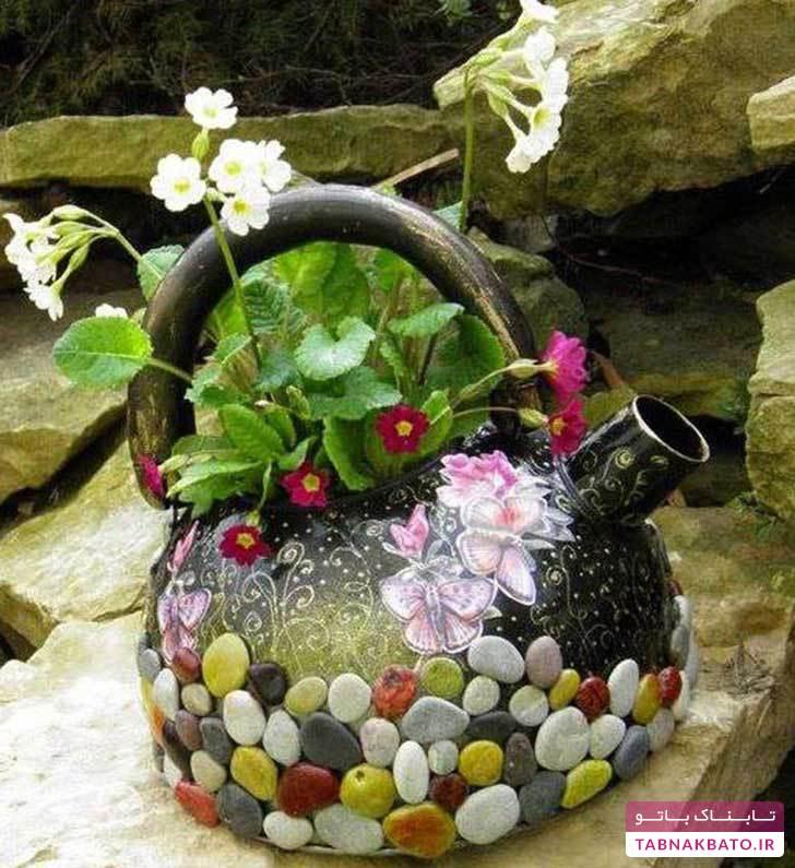 گلدانهای جالب و متفاوت