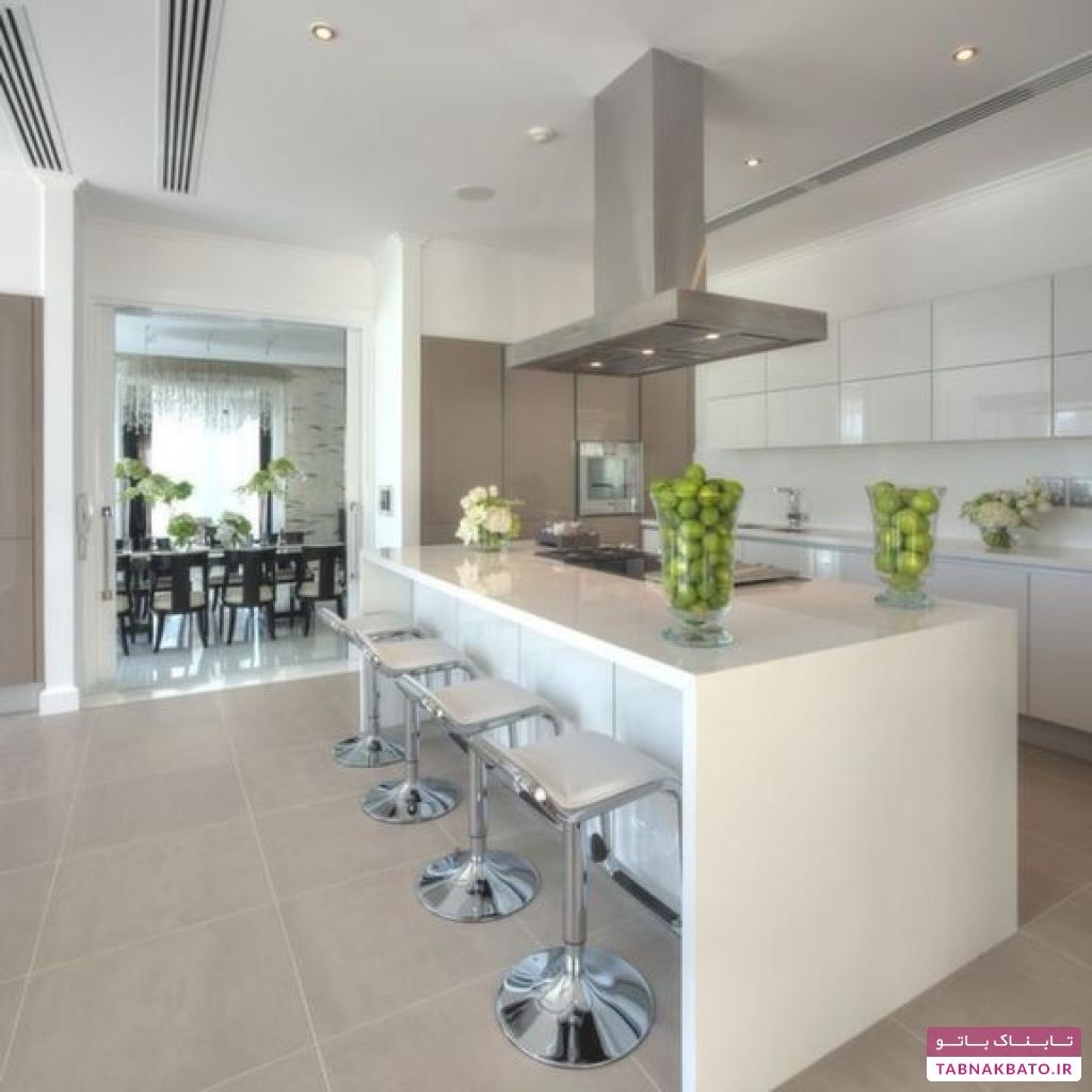 طرحهای جالب و متنوع پیشخوان آشپزخانه