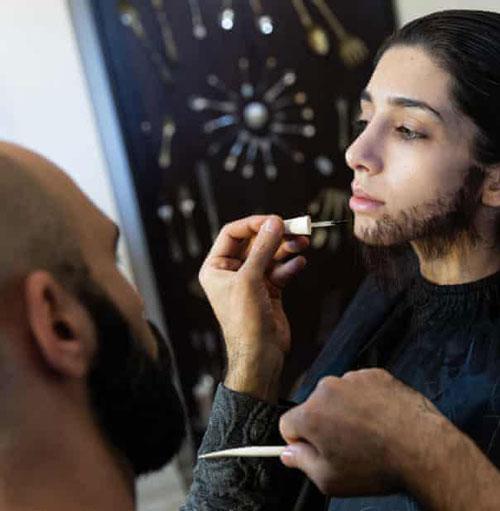 گریم دختر پسرنمای ایرانی سوژه گاردین شد+عکس