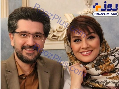 امیرحسین مدرس در کنار همسرش +عکس