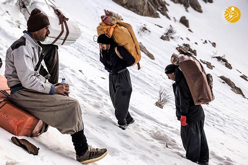 گزارش رسانه کُردی از وضعیت کولبران+عکس