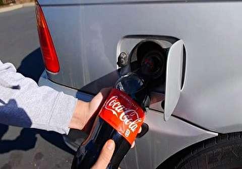 خودوریی که به جای بنزین با نوشابه حرکت میکند