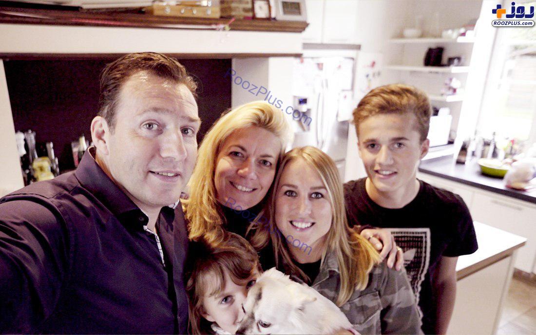 مارک ویلموتس همراه با خانواده +عکس