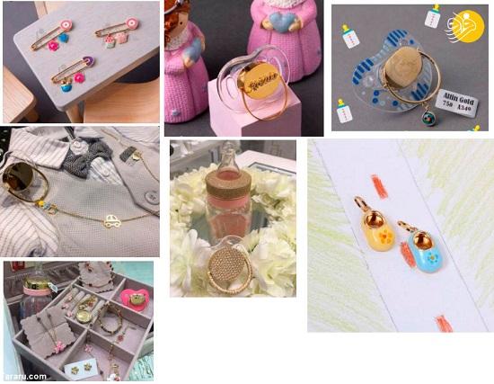 فروش پستونک و شیشهشیر طلا در مشهد