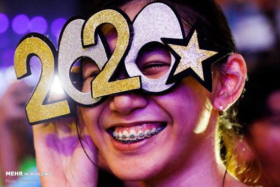 جشن آغاز سال نوی میلادی  ۲۰۲۰