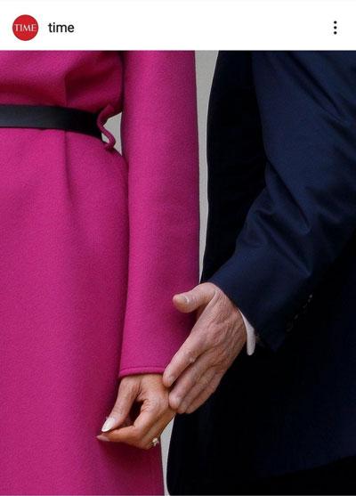 خبری هست؟ دونالد ترامپ حلقهاش را درآورد+عکس
