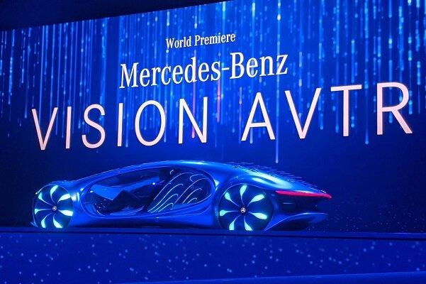 خودروی جدید بنز با الهام از فیلم آواتار +عکس