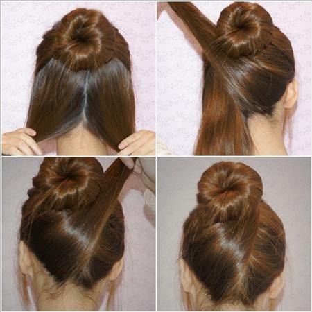 آموزش تصویری مدل موهای فوری