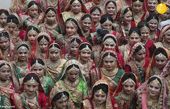 جشن عروسی دختران یتیم