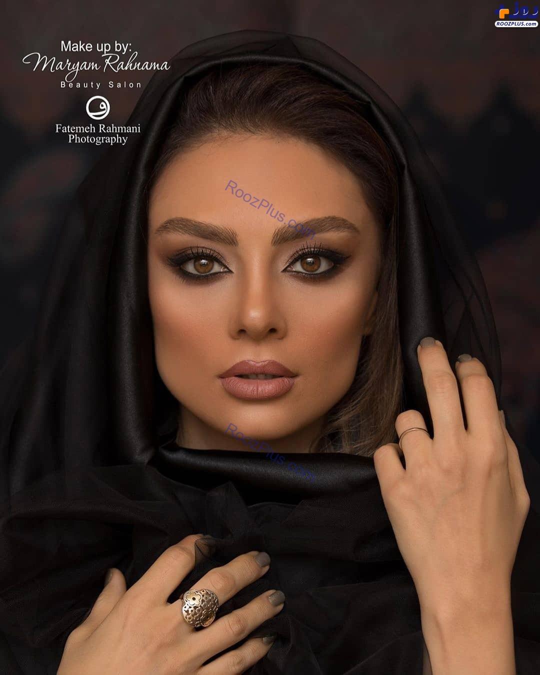 یکتا ناصر با چهره و میکاپی جدید و متفاوت+عکس